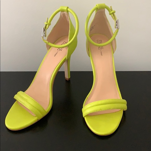 Prabal Gurung for Target Shoes   Neon